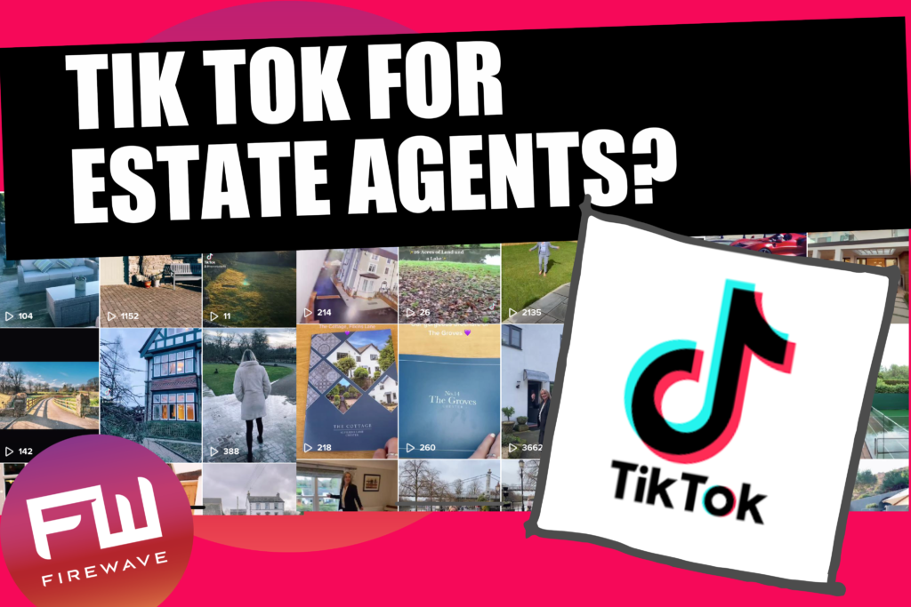 Tik Tok for estate agents - main blog image